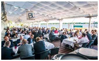 Veranstaltungen an der Elbe bei Hamburg, direkt an der Schiffsbegrüßungsanlage Willkomm Höft!